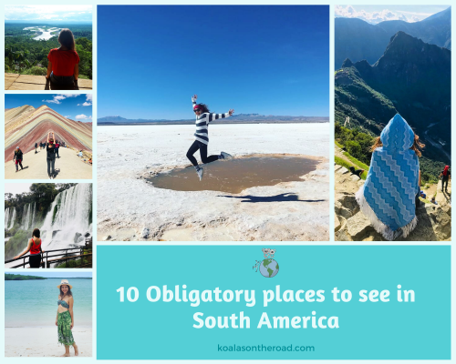 obligatory places to see in South America