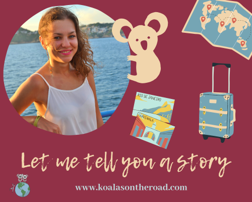 Let me tell you a story koalas on the road