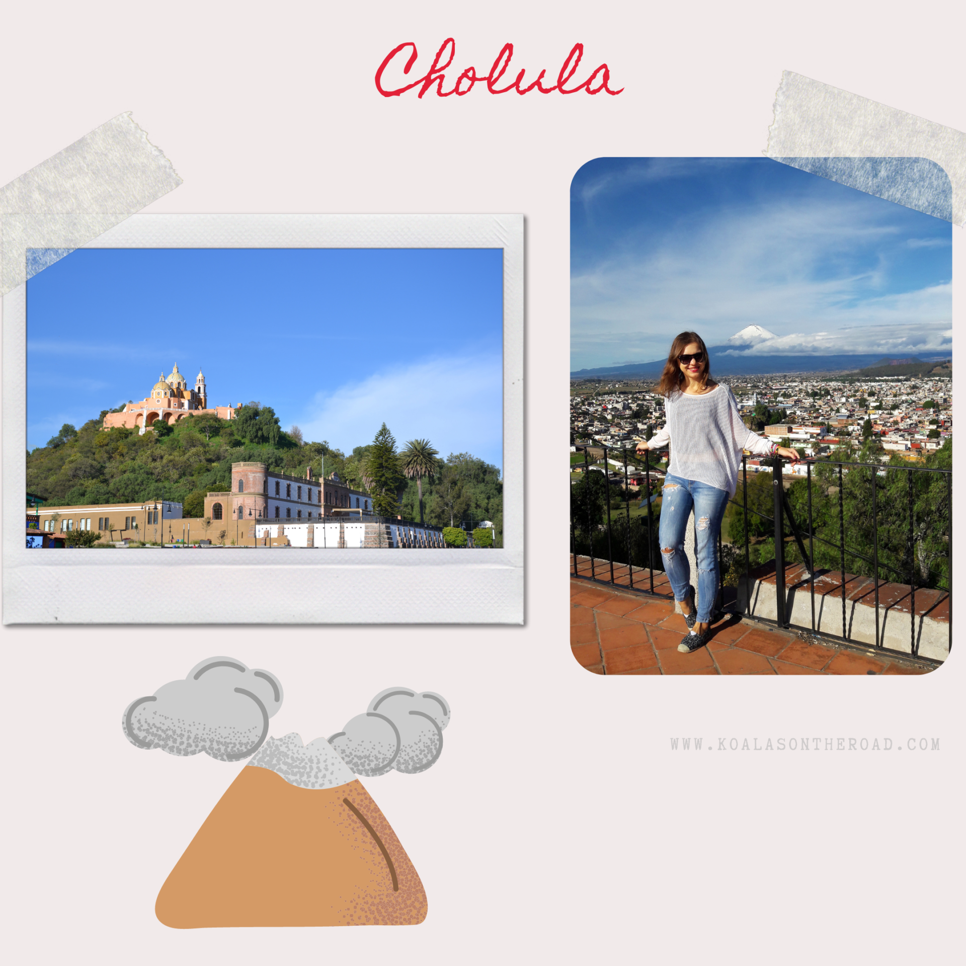 Discovering Mexico - what to visit in Puebla, Morelos and Guerrero states - koalas on the road-Cholula