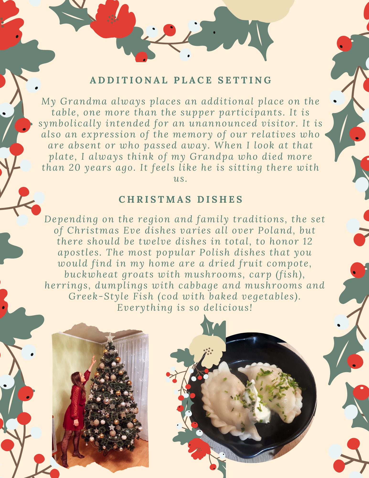 Christmas in Poland and welcoming The New Year - Polish traditions