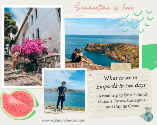 What to see in Empordà in two days - koalas on the road 1